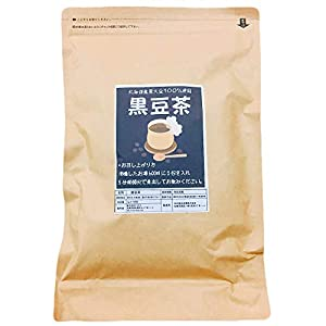 北海道産黒豆茶 大容量105包 ノンカフェイン ティーバッグタイプ 黒大豆