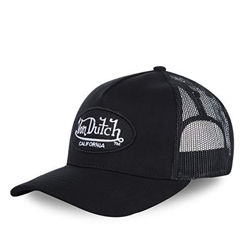 VON DUTCH - Casquette Trucker Von Dutch Lof Homme / Femme - Noir - Taille unique