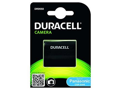 Duracell DR9668 - Batería para cámara Digital 7.4 V, 700 mAh (reemplaza batería Original de Panasonic CGA-S006)