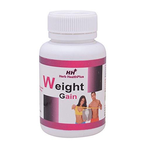 Herb HealthPlus Weight Gain Capsule (60 Capsules, 500 mg)