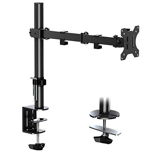 ELIVED Monitor Halterung Höhenverstellbar Tischhatlerung Monitorständer für 13