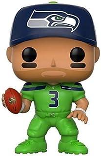 Funko POP NFL: Russell Wilson (Seahawks Color Rush) Figura coleccionable