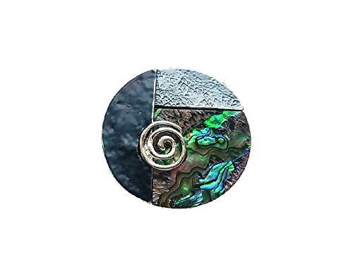 Brosche Magnetbrosche Schal Clip Bekleidung Poncho Taschen Stiefel Textilschmuck Perlmutt