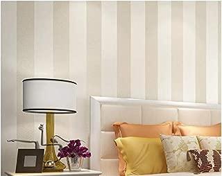 Yosot Modern Minimalist Non-Woven Stripes Wallpaper Wallpaper Bedroom Wallpaper Wallpaper White
