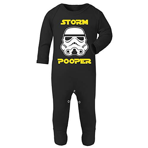 Originele Stormtrooper Storm Pooper Baby en Peuter Romper Pak