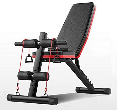 Banco de Musculación Plegable Entrenamiento Completo tu Gimnasio Fitness