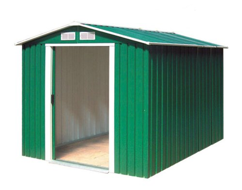 Tepro Gartenhaus / Metallgerätehaus Riverton 6x8 grün