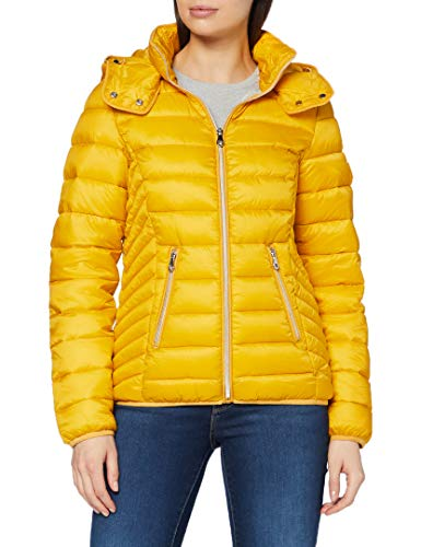 Street One Damen 201528 Nylonjacke Jacke, golden Yellow, 44
