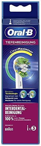 Braun Oral-B Toothbrush Heads Deep Cleanse, 3 Stück, 50 g