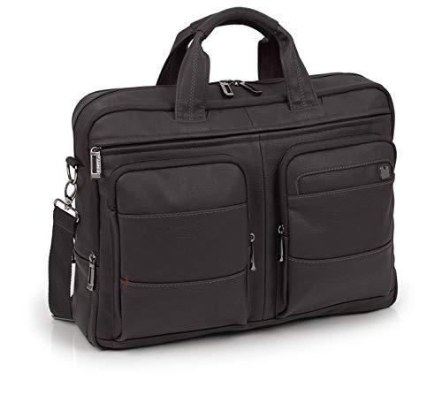 GABOL Maletin 3 DPT Koffer, Erwachsene Unisex, Braun (Braun), Einheitsgröße