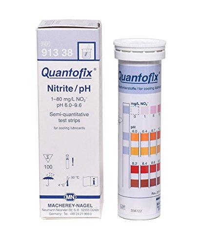 quantofix 1138919Nitrit/PH Test Stick für die Kühlung Gleitmittel, 6mm x 95mm (100Stück)