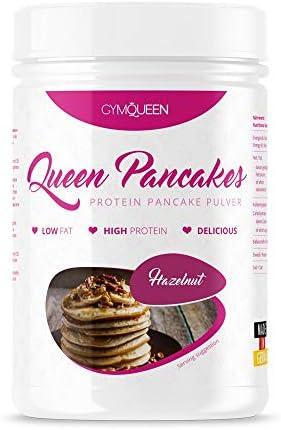 GymQueen Snickerdoodle - Polvo para tortitas de proteína bajo ...
