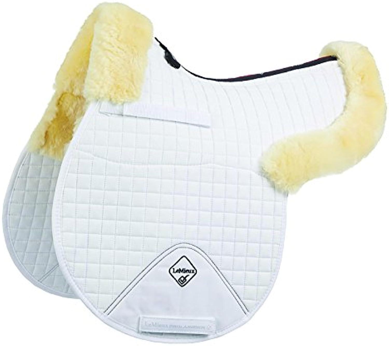 LeMieux Merino Plus Half Lined Gp Numnah Lambskin Saddle Pad