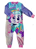 Pijama de forro polar para niñas, todo en uno, pijama de 18 meses, 2, 3, 4, 5, 6, 7, 8,...