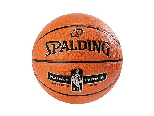 Spalding NBA Platinum Precision Ball 76307Z 76307Z_7 - Balón de Baloncesto Unisex, Color Naranja, 7 EU (7 UK)