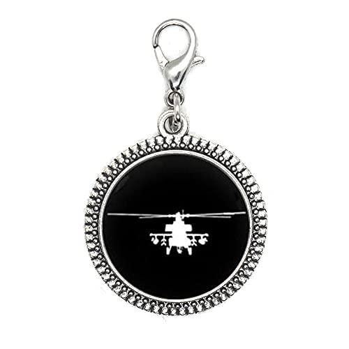 Tirador de cremallera con altímetro de avión, medidor de altitud con cremallera para piloto, asistente de vuelo para aviadores, accesorios para hombre, regalo para él-JV63