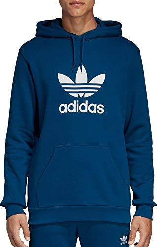 adidas Originals Herren Trefoil Hoodie Kapuzenpulli, Legend Marine, Klein