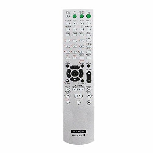 ZdalaMit RM-ADU005 Replaced Remote fit for Sony DVD Home Theater System DAVDZ230 DAVHDX265 DAVHDX266 DAV-DZ630 HCD-DZ630 HCD-HDX265 HCD-HDX665 DAV-HDX266 HCD-HDX266 DAV-HDX267W DAV-HDX465
