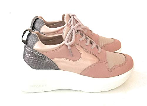 Cesare P.By Paciotti , Damen Sneaker Pink Rosa, Pink - Rosa - Größe: 41 EU