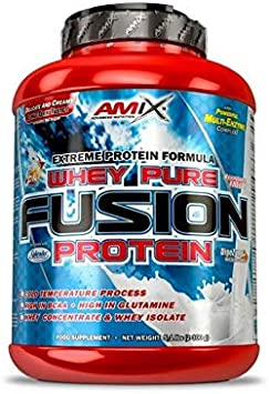 Amix Whey Pure Fusion Fresa 2300 g