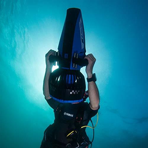Unterwasser Scooter Yamaha 220Li schwarz/blau Bild 4*