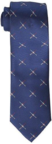 Star Wars Men\'s Lightsaber Duel Tie, Navy, One Size