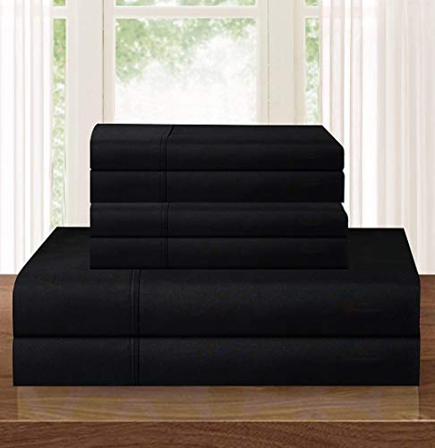 Ropa De Cama Negra  marca Elegant Comfort