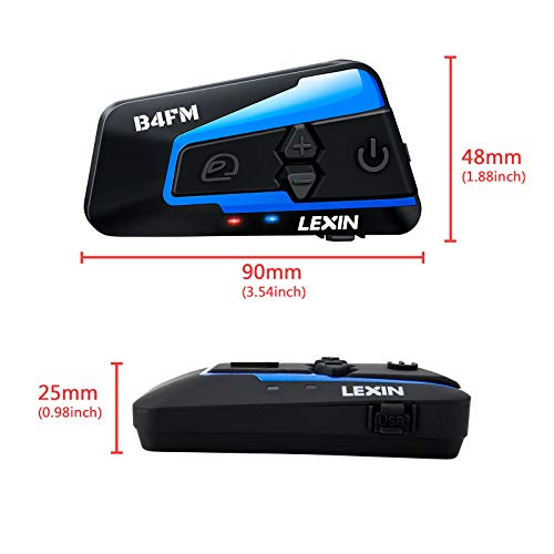 LEXIN B4FM Dual Pack - 9