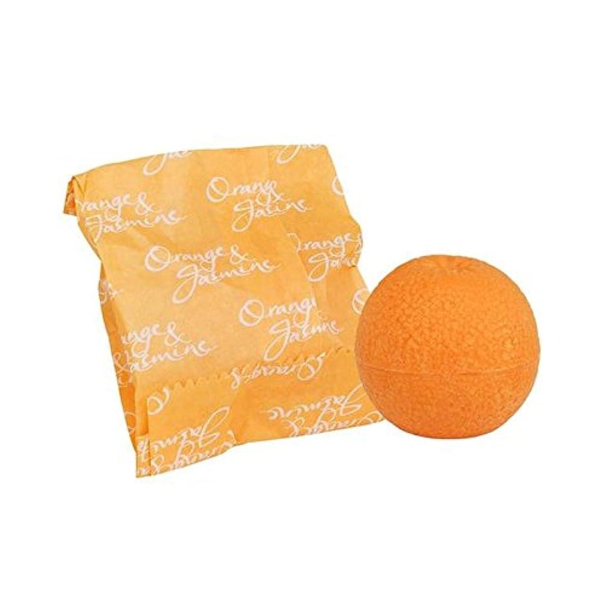 退屈させる入射間違えたオレンジ&ジャスミン石鹸100グラム x4 - Bronnley Orange & Jasmine Soap 100g (Pack of 4) [並行輸入品]