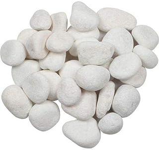 SisonJ Pebble Stones- Medium, 1kg (White)
