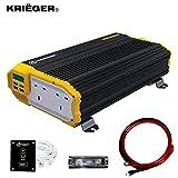 Krieger 1500 Watt Inverter di Potenza da Auto 12V a...