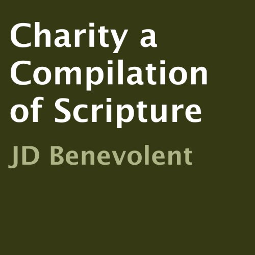 Charity a Compilation of Scripture audiobook cover art