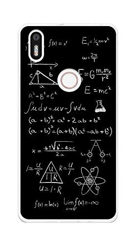 Tumundosmartphone Funda Gel TPU para BQ AQUARIS X5 Plus diseño Formulas Dibujos