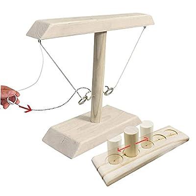 Ring Games Toss with Shot Ladder Bundle, Handma...