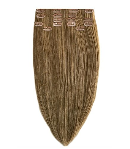 Extension a Clip Blond foncé doré - 50/55 cm