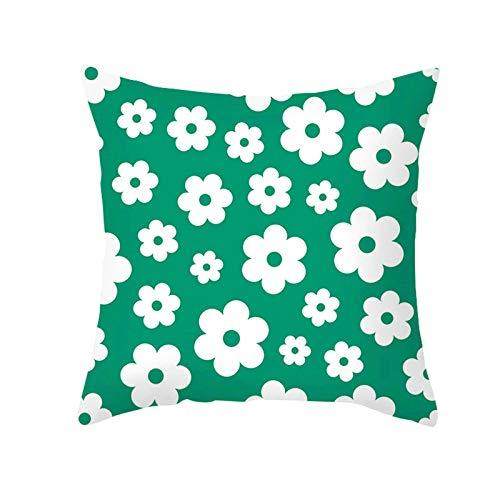 Socoz Funda para cojines de sofá, fundas de cojines rectangulares de 50 x 50 cm, fundas de almohada para cama de matrimonio, modelo 11