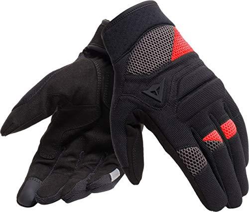 Dainese Fogal Unisex Handschuhe Schwarz/Rot S