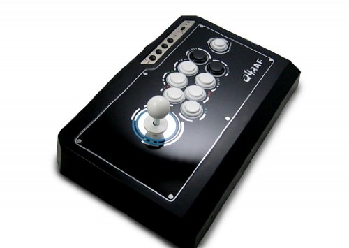 QanBa Q4 RAF Joystick Pro Fighstick Arcade 3in1 XBOX360/PS3/PC Black