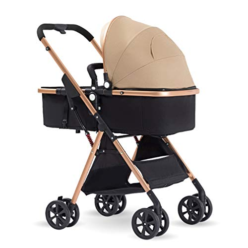 Why Choose Baby Stroller, 2-in-1 Convertible Sleeping Stroller, Foldable Pram Carriage With 5-Point ...