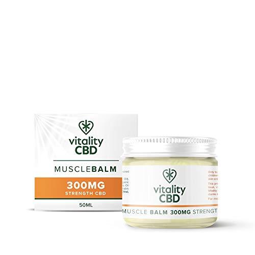 Vitality CBD Muscle Balm Natural 300mg of CBD, 50ml