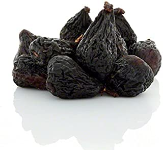 Anna and Sarah Dried Black Mission Figs in Resealable Bag, 3 Lbs