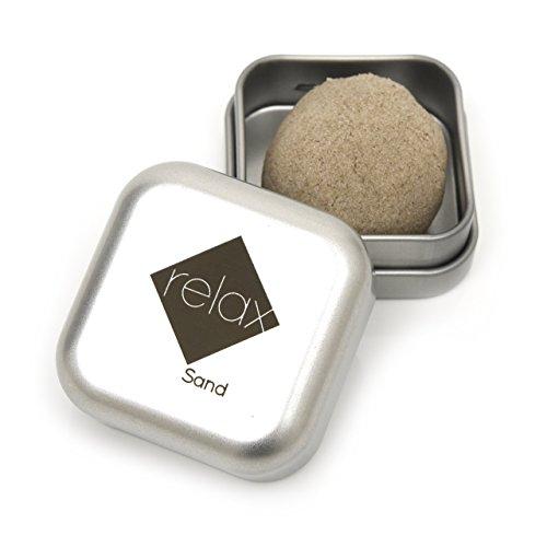 CadoPro Anti-Stress Relax Sand Premiumqualität, kein Plastik | kleines Geschenk | Spiel mit Stil | Achtsamkeit, Meditation, Entspannung und Stressabbau im Taschenformat | Mehr Konzentration und Fokus
