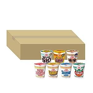 【Amazon.co.jp限定】 日清食品 カップヌードル 七福神シリーズ (レギュラーサイズ 7種/計20個)【セット買い】
