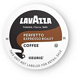 Lavazza Perfetto Single-Serve Coffee K-Cups for Keurig Brewer, Dark and Velvety Espresso..