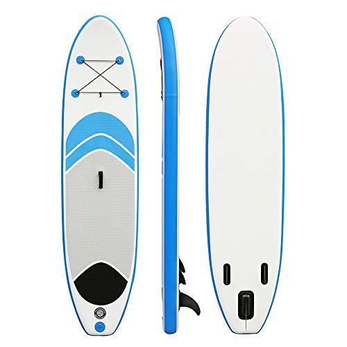 Tabla Inflable de Paddle Surf 10 pies de soporte SUP Junta cómodo ...