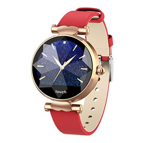 MKXULO Reloj Inteligente para Mujeres con Monitor de Actividad física, con Pantalla a Color, Impermeable a Prueba de IP67 y Pantalla de Compatible con iOS Android,5