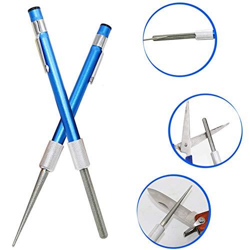 Daxerg Diamond Retractable Sharpener multifunctioneel dubbelkop-messenslijper