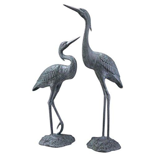 Big Sale SPI Home 33223 Garden Heron Pair Sculpture