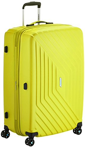 American Tourister Air Force 1 Spinner 76/28 TSA Espandibile Grad Valigia, Policarbonato, Gradient Yellow, 111 litri, 76 cm