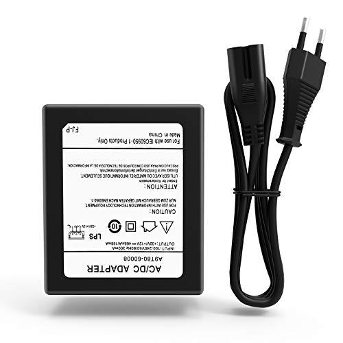 Fxlpower Fuente de alimentación y adaptador de CA/CC para impresoras HP Officejet A9T80-60008, A9T8060008, 6230, 6815 y 6825...